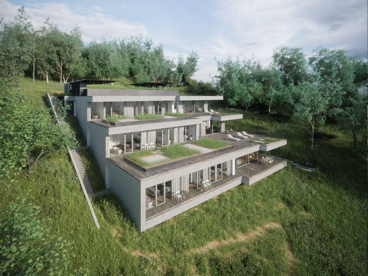 terrassenhäuser am pfänderhang